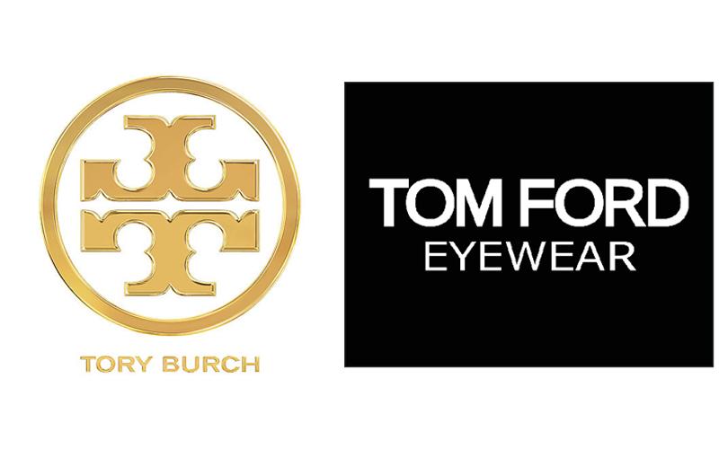 Tory Burch and Tom Ford Eyewear