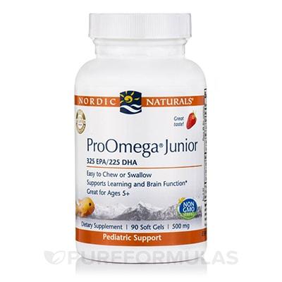 ProOmega Junior 90 Soft Gels